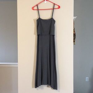 Dresses & Skirts - TANK MAXI TUBE STRETCH TIERED A-LINE LAYERED DRESS